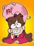 Pig Hat by zillabean