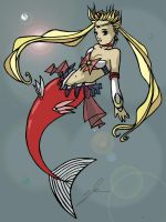 Sailor Moon Mermaid by zoestarlite