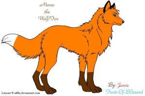 Marco the Wolf/Fox 2 by Frost-of-Blizzard