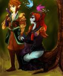 Link and Midna by Christy58ying