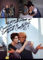 At Vulkon with Chase Masterson and Armin Shimerman by Empress-XZarrethTKon
