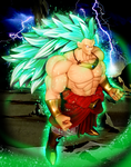 SS3 Broly by MolochTDL