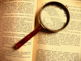 Magnifying glass by elicenia