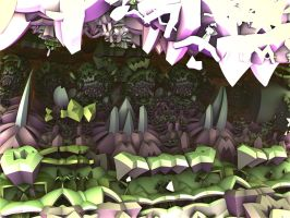 Chaotic Cavern by Undead-Academy