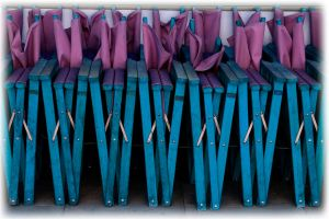 line up in blue by awjay