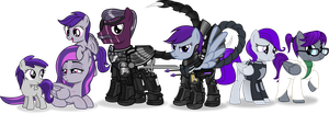 Glory's family by Vector-Brony