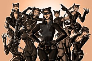 Nostalgic Catwoman by ADL-art