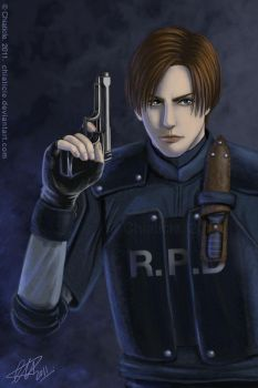 RE2: Leon by Chiaticle