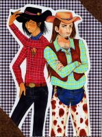 AT: the cowboys by nanako87