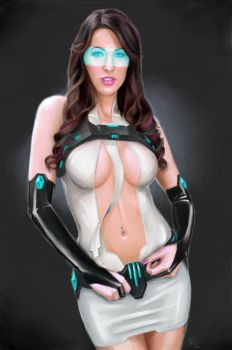 Future-Party-Girl by Dinoforce