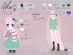 .niku ref sheet. by nikushya1