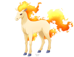 Ponyta by Vialir