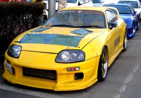 Yellow Supra Turbo by toyonda