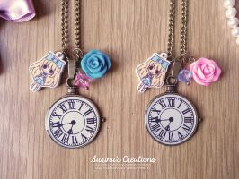 + Alice in Wonderland Necklaces + by SaraFabrizi