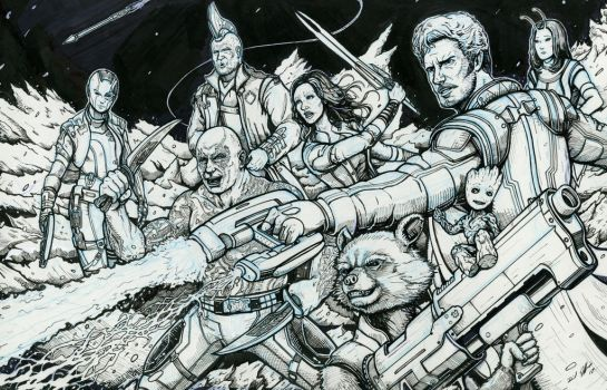 Guardians of the Galaxy by Daniel-Jeffries
