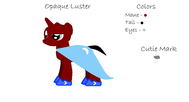 Opaque Luster (OC Sheet) by BigAl29