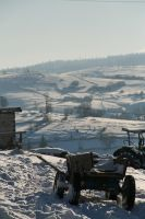 Rural transportation in winter by dgheban