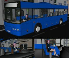The New Bus Driver by MCMXC2