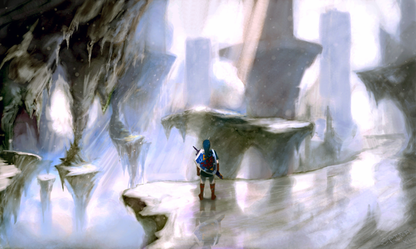 Palace of Ice, Hyrule by Spire-III