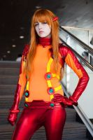 Neon Genesis Evangelion - Asuka Cosplay 2 by notomorrowgirls