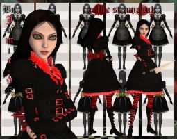 alice madness returns gothic steam punk by jomic-95