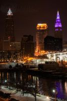 Cleveland's Three by BStadler
