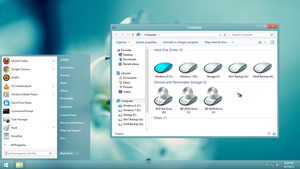 Windows 8 SX by UltimateDesktops