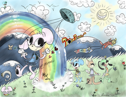 Somewhere Over! (Contest Entry) And I Won! :D:D:D by fluffy-gloves