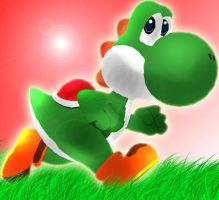 Yoshi by CiindyCore