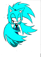 Mystery the Ghost by shadowthehedgehog109