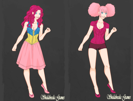 Minka Mark And Pinkie Pie by TigerPrincessKaitlyn