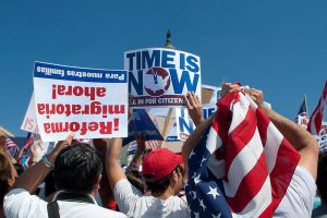Immigration Reform Rally 3 by Adrianna-Grezak
