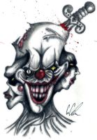 freaky clown thing by ayame2