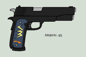 M1911A1 .45 by TheRocketterGhost