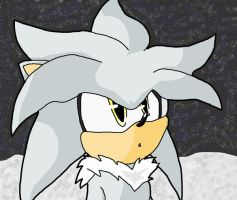 silver the hedgehog by Shontiachaosmaster