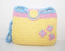 Fluttershy Cutie Mark Purse MLP by TheHarley
