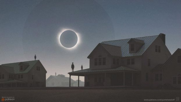 Solar Eclipse by YURISHWEDOFF