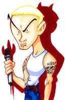 Eminem Caricature by WarBrown