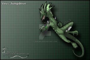Virus Jumpdrive by Zukuro
