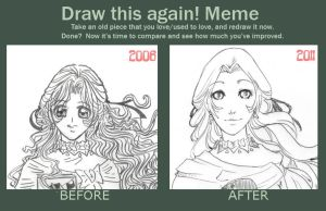 Before and After Meme by Karijn