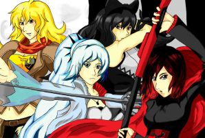 RWBY, They are ready by XxTiDexX