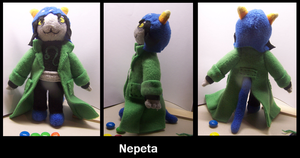 Small Nepeta Plush by JadeStorm