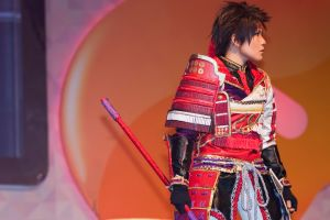 Samurai Warriors 4 - Sanada Yukimura on stage by roadscream