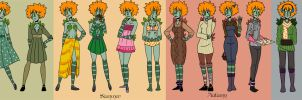 16 Outfits by Corny63
