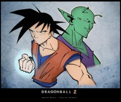 Dragon Ball Z - Pose by drucpec
