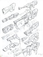 machines that likes bullets by NJQUIJADA