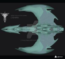 Romulan D'shara WIP 3 Dec 09 by Galen82