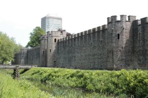 Cardiff Castle 5 by CAStock