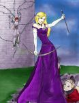 The Queen Was Feared by RayneShadowGoddess