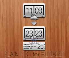 Plain HTC for XWidget by boyzonet
